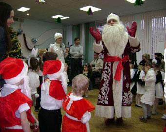 Сценарий на Новый Год для детей 3-7 лет